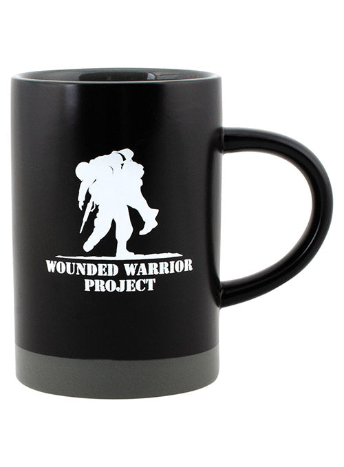 WWP 15 oz Two Tone Ceramic Mug