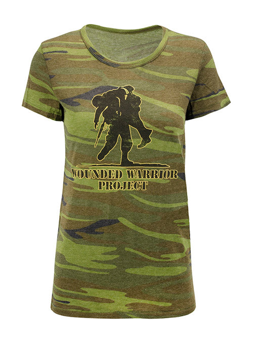 WWP Ladies Camo Tee