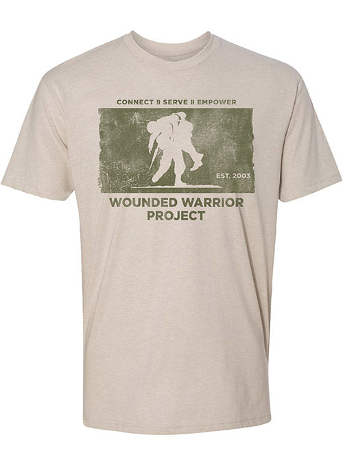 WWP Connect, Serve, Empower Distressed Graphic Tee