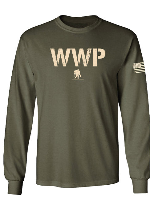 WWP Stencil Graphic Long Sleeve Tee