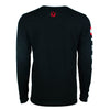 """Vibes"" Black Long Sleeve Shirt"