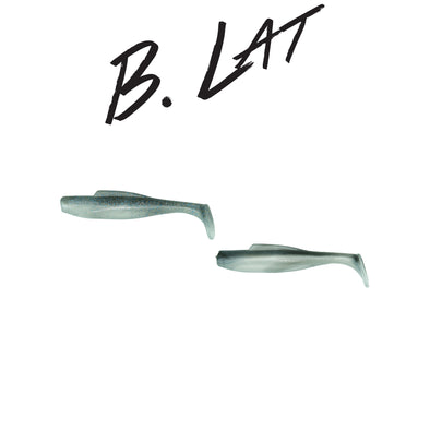 "B. Lat 5"" Swimbait Kit (Smokey Shad/Smelt)"
