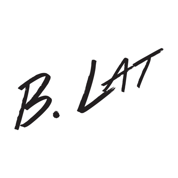 B.Lat 4 Inch Sticker