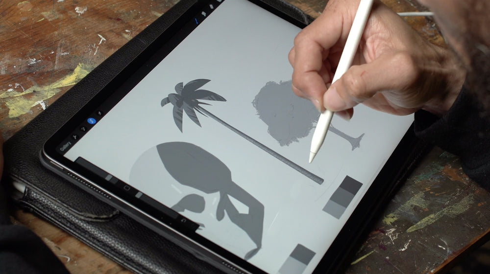 "Sean Cheetham + Wayne Johnson | ""Digital Drawing Fundamentals - Pt.1 + Pt.2"""