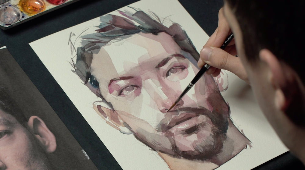 "Nick Runge | ""Bold Portraits In Watercolor"""