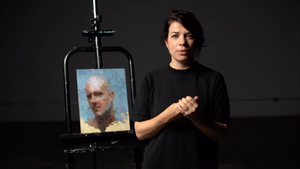 "Mia Bergeron | ""Layering The Portait In Oils"""