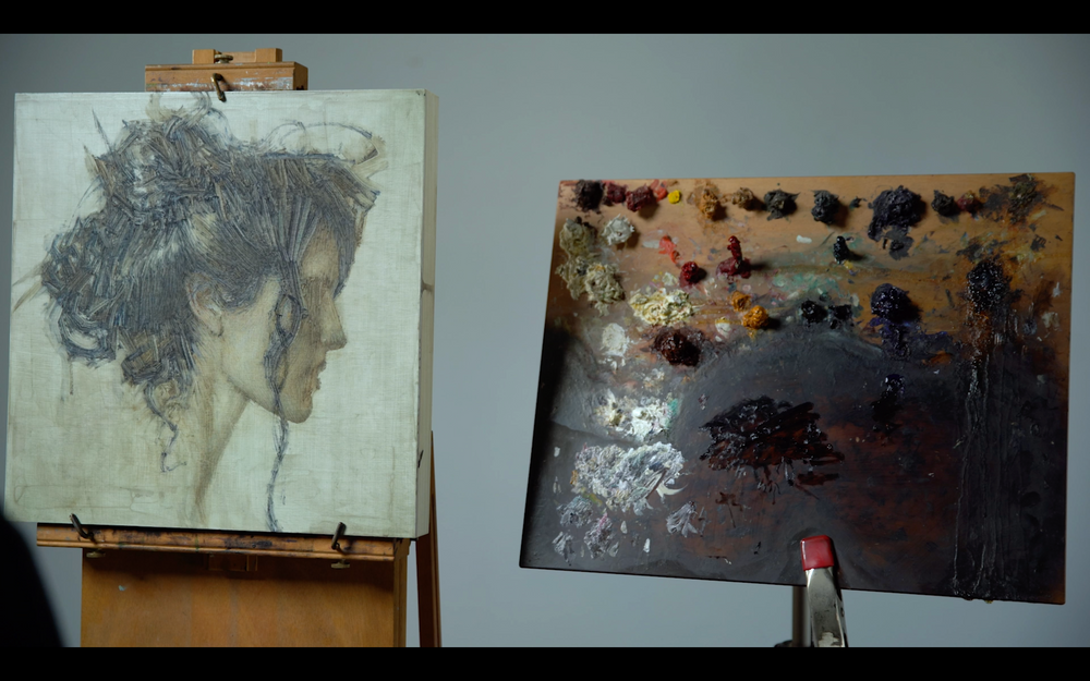 "Daniel Bilmes | ""The Multi-Textured Portrait in Oils"""