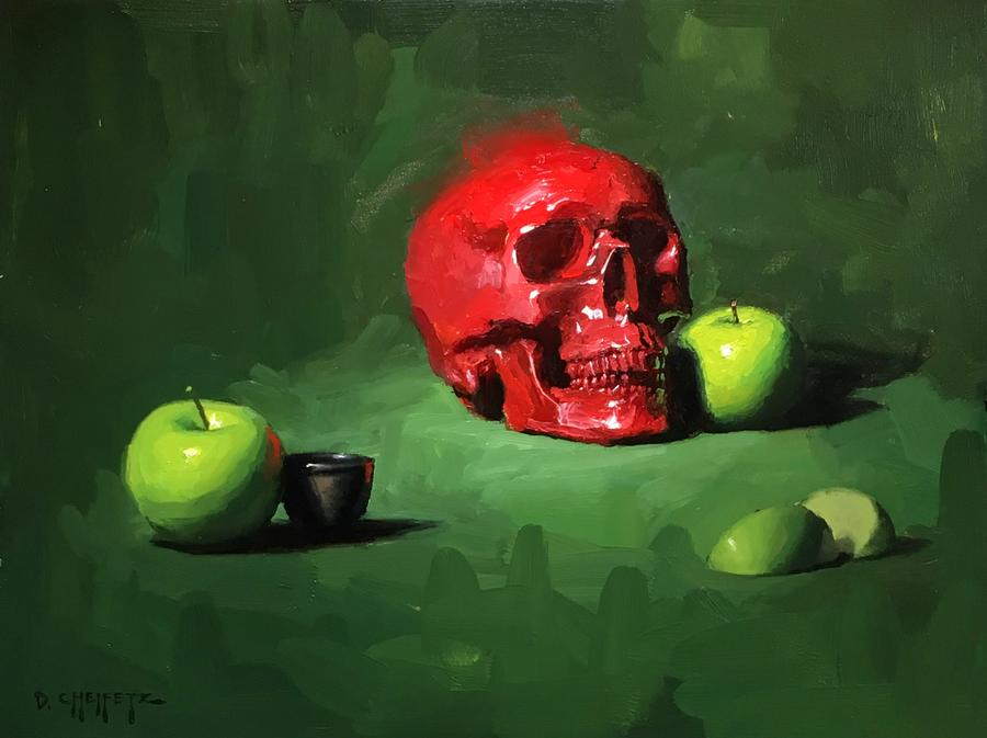 "David Cheifetz | ""Basics + Still Life Oil Painting"""