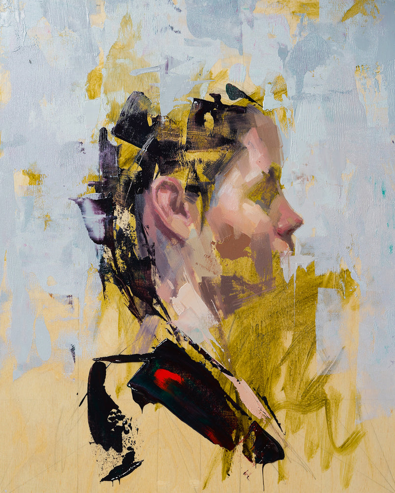 "John Wentz | ""The Deconstructed Portrait in Oils"""