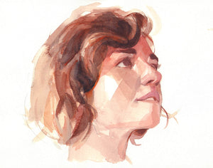 "Nick Runge | ""Exploring Portraits In Watercolor"""