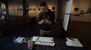 "Steve Kim | ""Exploring Process Through Oil Paint and Digital Media"""