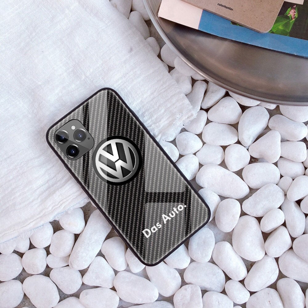 Iphone 12/12Pro/Pro Max Tempered Glass Case AUDI/BENTLEY/MASERATI