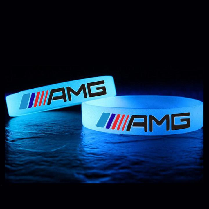 Broshop Bracelet [2 Pieces] Mercedes AMG Bracelet