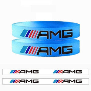 Broshop Bracelet Luminous AMG [2 Pieces] Mercedes AMG Bracelet