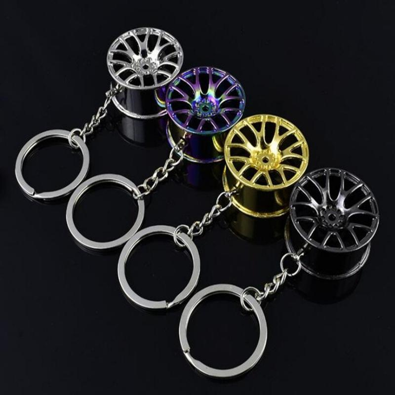 Broshop Keychain Car Wheel Keychain