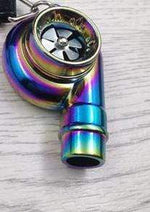 Broshop Keychain Colorful Turbine Pressure Booster Keychain