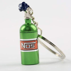Broshop Keychain Green NOS Turbo Keychain
