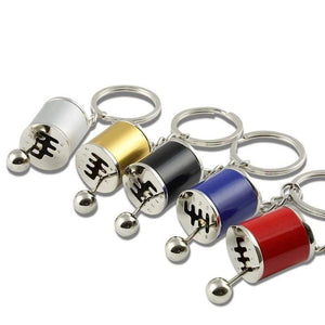 Broshop Keychain Six Speed Manual Gearbox Keychain