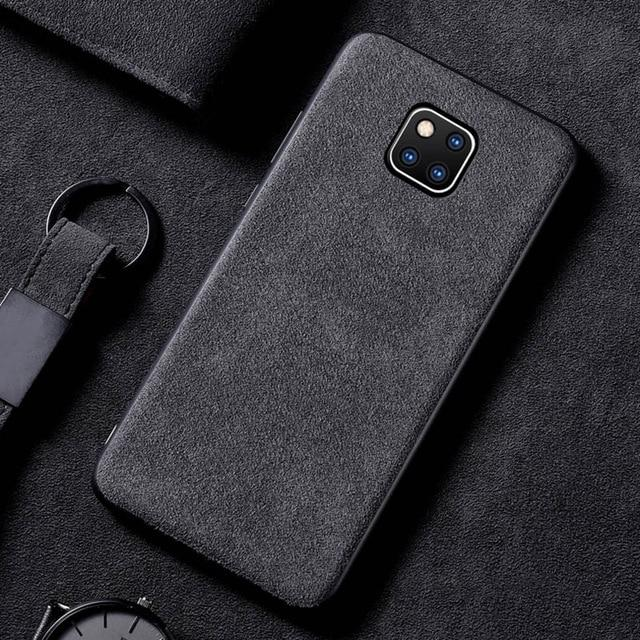 No Logo Alcantara Case