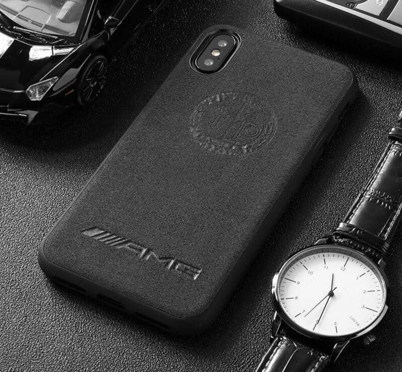 Broshop Phone Case AMG Affalterbach / Iphone 6/6S LIMITED EDITION Luxury Suede/Alcantara Iphone Case
