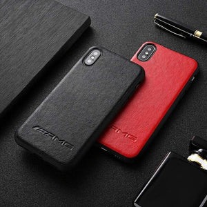 BroShop Phone Case AMG PU Faux Leather Iphone Case
