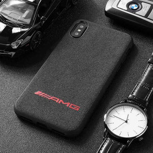 BroShop Phone Case AMG Red / Huawei Mate 20 {NEW} Huawei LIMITED EDITION Luxury AMG Alcantara Case