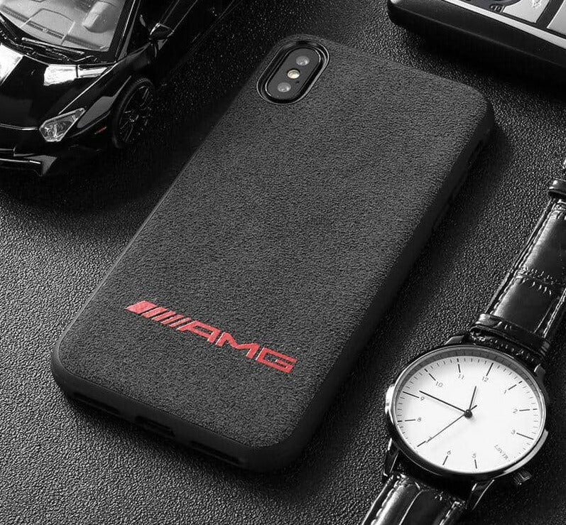 Broshop Phone Case AMG Red / Iphone 6/6S LIMITED EDITION Luxury Suede/Alcantara Iphone Case