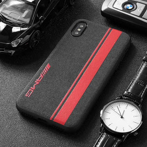 BroShop Phone Case AMG Red Line / Huawei Mate 20 {NEW} Huawei LIMITED EDITION Luxury AMG Alcantara Case
