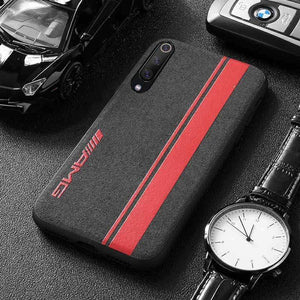 Broshop Phone Case AMG Red Line / Xiaomi Mi 6 LIMITED EDITION Luxury Suede/Alcantara Xiaomi Case