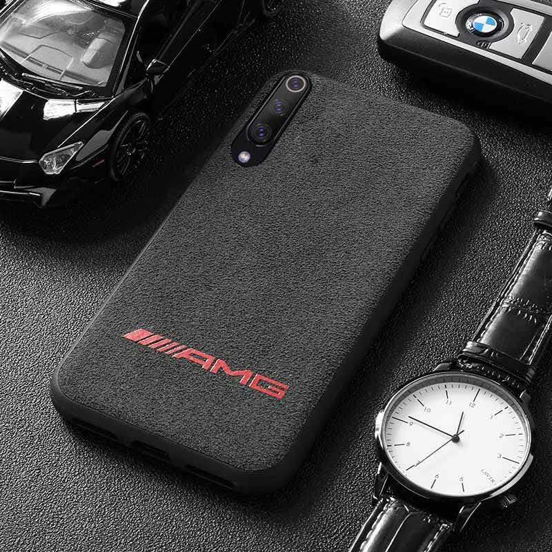 Broshop Phone Case AMG Red / Xiaomi Mi 6 LIMITED EDITION Luxury Suede/Alcantara Xiaomi Case