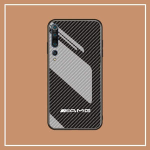 Broshop Phone Case AMG / Xiaomi 10 Xiaomi Tempered Glass Case AUDI/BENTLEY/MASERATI