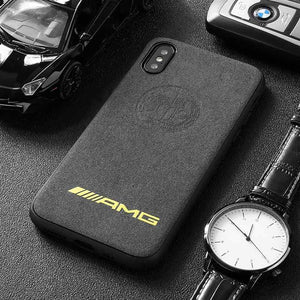 BroShop Phone Case AMG Yellow Affalterbach / Huawei Mate 20 {NEW} Huawei LIMITED EDITION Luxury AMG Alcantara Case