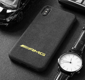 Broshop Phone Case AMG Yellow / Iphone 6/6S LIMITED EDITION Luxury Suede/Alcantara Iphone Case