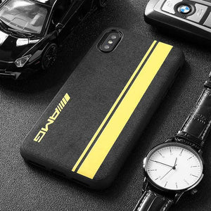 BroShop Phone Case AMG Yellow Line / Huawei Mate 20 {NEW} Huawei LIMITED EDITION Luxury AMG Alcantara Case