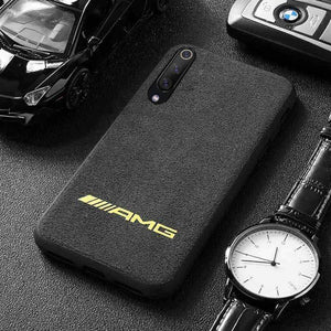 Broshop Phone Case AMG Yellow / Xiaomi Mi 6 LIMITED EDITION Luxury Suede/Alcantara Xiaomi Case
