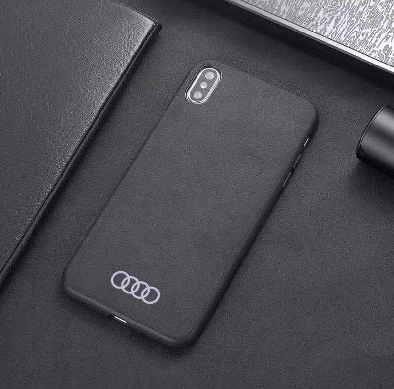 Broshop Phone Case Audi / Samsung Galaxy S8 Samsung Luxury Alcantara Case (Audi, Abarth, Ferrari, Ford...)