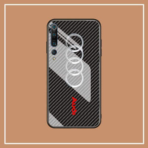 Broshop Phone Case Audi / Xiaomi 10 Xiaomi Tempered Glass Case AUDI/BENTLEY/MASERATI