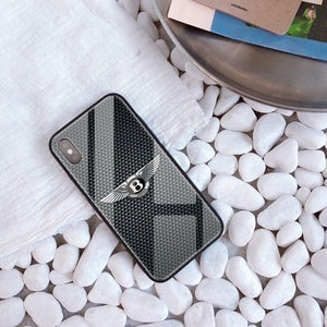 Broshop Phone Case Bentley / Iphone 6/6S Iphone Tempered Glass Case AUDI/BENTLEY/MASERATI