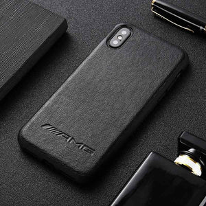 BroShop Phone Case Black AMG / Iphone 6/6S AMG PU Faux Leather Iphone Case