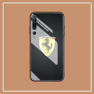 Broshop Phone Case Ferrari / Xiaomi 10 Xiaomi Tempered Glass Case AUDI/BENTLEY/MASERATI