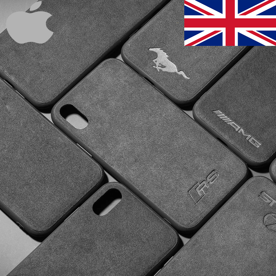 BroShop Phone Case Iphone British Cars Alcantara Case