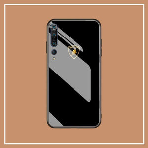 Broshop Phone Case Lamborghini S / Xiaomi 10 Xiaomi Tempered Glass Case AUDI/BENTLEY/MASERATI