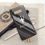 Broshop Phone Case Maserati / Samsung Galaxy S8 {NEW!} Samsung Tempered Glass Carbon Fiber Case