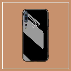 Broshop Phone Case MB s / Xiaomi 10 Xiaomi Tempered Glass Case AUDI/BENTLEY/MASERATI