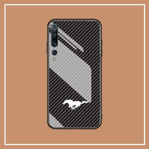 Broshop Phone Case Mustang / Xiaomi 10 Xiaomi Tempered Glass Case AUDI/BENTLEY/MASERATI