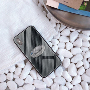 Broshop Phone Case Pagani / Iphone 6/6S Iphone Tempered Glass Case AUDI/BENTLEY/MASERATI