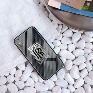 Broshop Phone Case Rolls Royce / Iphone 6/6S Iphone Tempered Glass Case AUDI/BENTLEY/MASERATI