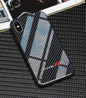 Broshop Phone Case Type R / Huawei Mate 20 Huawei Tempered Glass Carbon Fiber Case