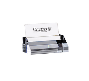 Orrefors Business Card Holder