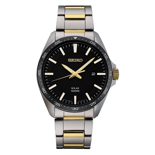 Seiko Men's Two-Tone Essentials SNE485